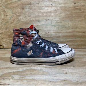 Converse Harley Quinn CTAS Hi-Top Women's Shoes